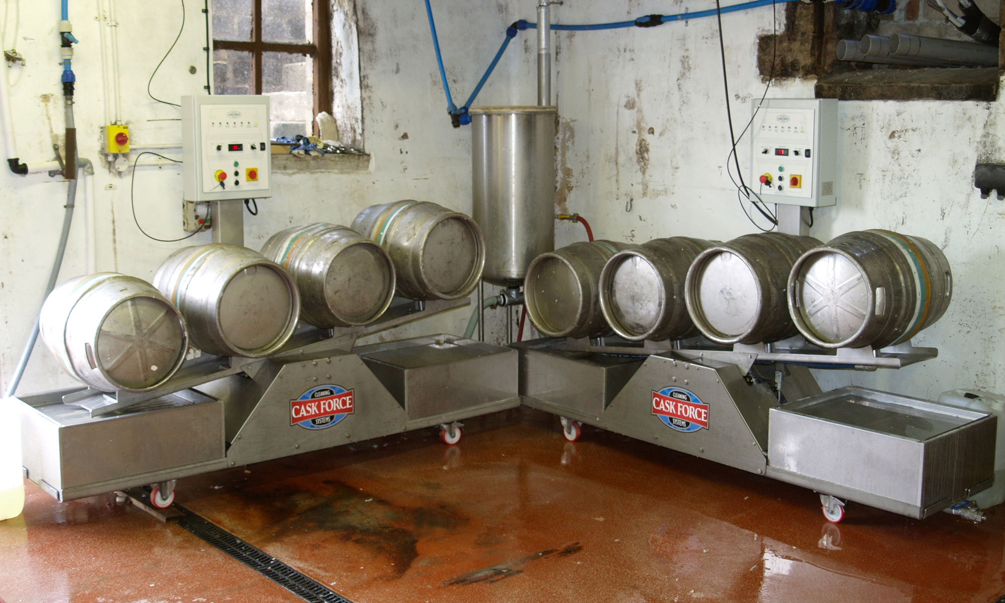 Cask and Keg Washers