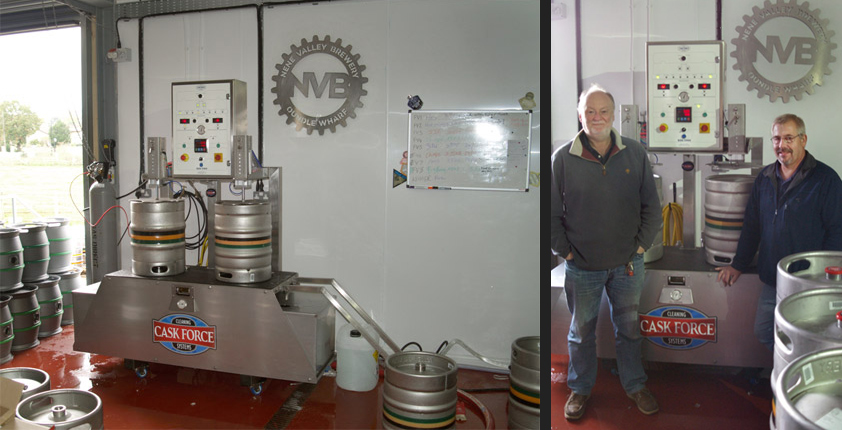 Cask Force at Nene Valley Brewery